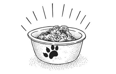 cibo per cane
